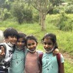 4 children smiling, in valuing morality in education
